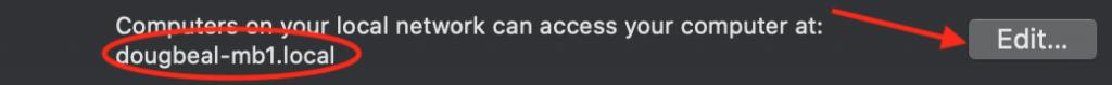 Circled Network Name